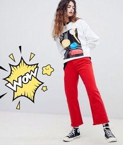 Reclaimed Vintage Inspired Graphic Sweatshirt